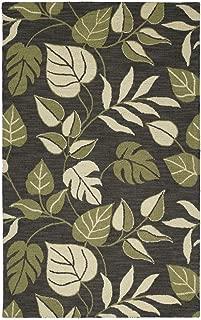 Kaleen Rugs Khazana Collection 6594-02 Black Hand Tufted 2' x 3' Rug