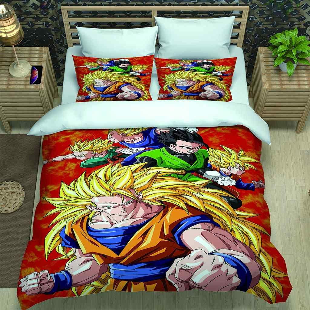 PYCXYI Duvet Cover Set Queen Characters Ranking TOP7 Anime Free shipping on posting reviews Warrior Print with