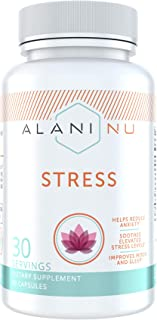 Alani Nu Stress Relief Supplement with Ashwagandha, 30 Servings