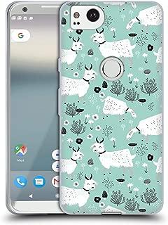 Official Andrea Lauren Design Goats Animals Soft Gel Case Compatible for Google Pixel 2