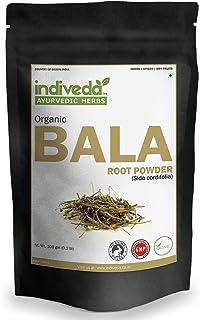 Indiveda Organic Bala (SIDA Codifolia) Powder for Supporting Strengthening, 100 Grams (3.5 Ounce)*