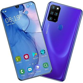 Teléfono Móvil Libres S20 Android 9 Smartphone Libre Moviles Libres 4G Dual SIM, Pantalla 7.5 Pulgadas, 4800mAh Batería, Teléfono 8GB RAM 256GB ROM, Face ID,Blue: Amazon.es: Deportes y aire libre