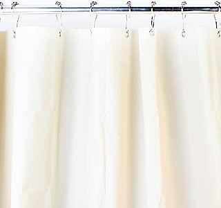 RJ RICK & JULIE HOME COLLECTIONS Mildew Resistant Shower Curtain Liner 72