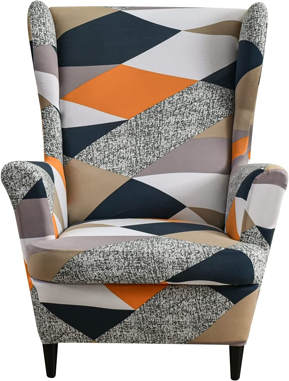 Eco-Ancheng Wingback Chair Cover-2 for PCS Popular standard online shop Wing Slipcover