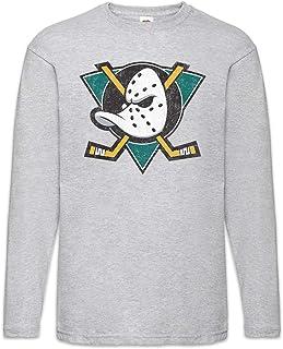 Urban Backwoods Ducks Hockey Herren Langarm T-Shirt