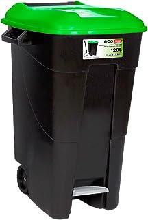comprar comparacion Tayg EcoTayg 120 - Contenedor de residuos con pedal, Verde, 120 l