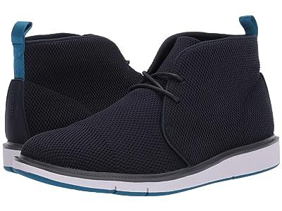 SWIMS Motion Knit Chukka (Navy/Seaport Blue) Men