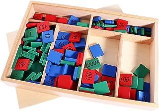 BAOBLADE Montessori Mathematics Materials Toy Stamp Game Box for Kids Preschool Training Toy