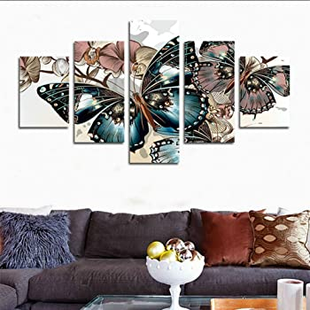 Abstract Canvas Print Oil Painting Wall Picture Home Decor UnFramed 50*4