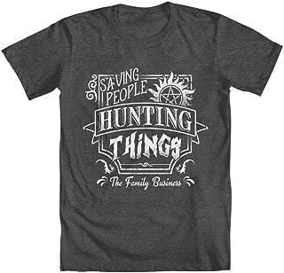 Saving People, Hunting Things Men's T-Shirt