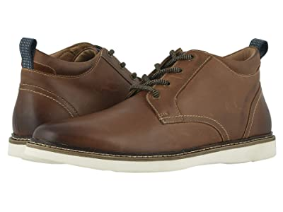 Nunn Bush Ridgetop Plain Toe Chukka (Tan Multi) Men
