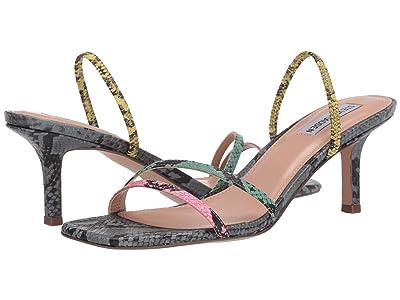 Steve Madden Loft Heeled Sandal (Multi Snake) Women