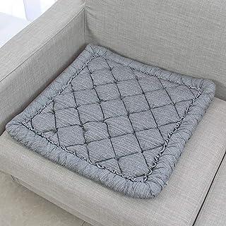 23x23inch YUMUO Traspirante Morbido Grande Futon Tatami Cuscino di Seduta Balcone Cuscino da Pavimento Meditazione Amato Buddha Yoga,Rotondo Spesso Cuscino Pavimento A 58x58cm