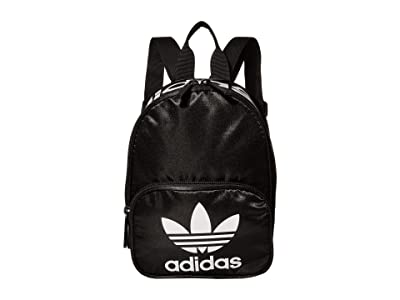adidas Originals Originals Santiago Mini II Backpack (Black Satin/White) Backpack Bags