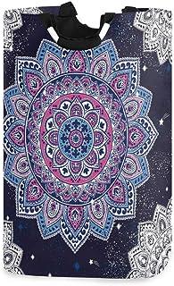 Panier à linge Alge motif floral tribal mandala étoile pliable durable panier de rangement panier à linge panier à linge p...