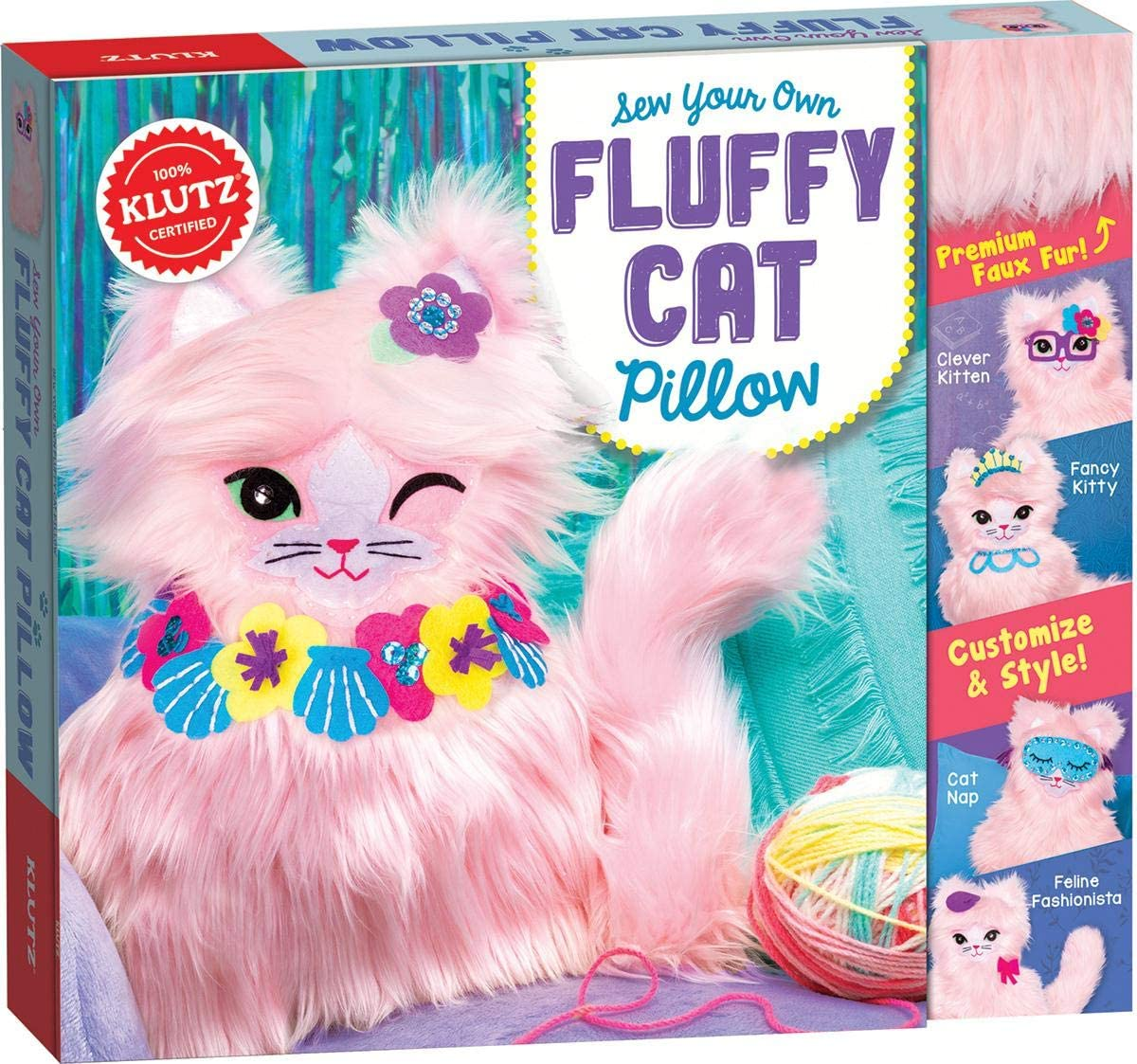 Sew Your Own Fluffy Max 44% OFF Cat Al sold out. Klutz Kit Craft Pillow