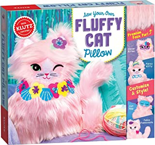 Sew Your Own Fluffy Cat Pillow (Klutz Craft Kit)
