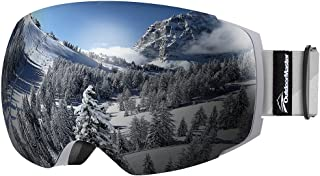 OutdoorMaster Ski Goggles PRO – Frameless, Interchangeable Lens 100% UV400..