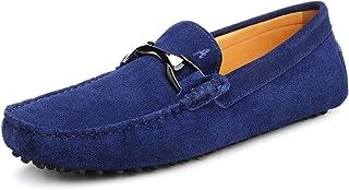 Shenduo - Mocassins pour Homme Cuir - Loafers Confort - Chaussures de Ville D7162