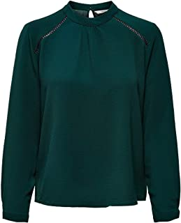 ONLY ONLNEW MALLORY L/S BLOUSE SOLID WVN NOOS Dames Top