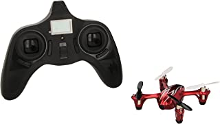 Hubsan 4 Channel 2.4GHz RC Quad Copter with Camera (Red/Silver)