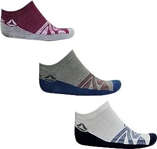 Reebok Unisex Cotton Towel Ankle Socks (Multicolour, Free Size) - Pack of 3
