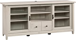 "Sauder Edge Water Entertainment Credenza, For TV's up to 55"", Chalked Chestnut finish"