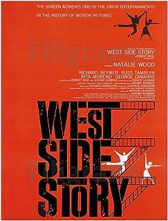 PostersAndCo TM West Side Story Film Rznv Poster/Reproductie 60 x 90 cm (*) 1 Poster Vintage/Retro