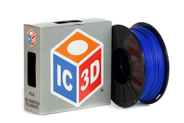1 kg Spool Blue MKK PLA 3D Printer Filament 1.75 mm Dimensional Accuracy +//- 0.03 mm