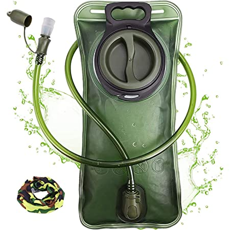 NOTHER Hydration Bladder 2 Liter Water Bladder Leak Proof Water Reservoir Hydration Pack Replacement for Hiking Running Cycling Biking Climbing