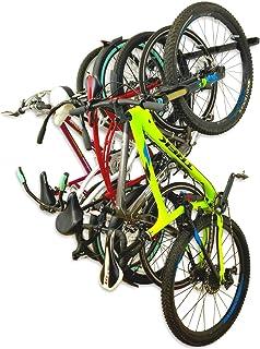 StoreYourBoard Bike Storage Rack, Holds 5 Bicycles, Home and Garage Adjustable Bike Wall Hanger Mount