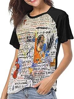 Jean Michel Basquiat 50 Cent Piece Women Classic Fashion Print T-Shirt