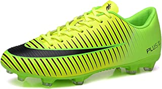 ad97e1b69 BADIER Kids Soccer Shoes Men Indoor Outdoor Football Boots Athletic Turf Mundial  Team Cleat Running Sports