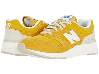 New Balance Kids 997H (Big Kid) (Varsity Gold/Sea Salt) Boys Shoes