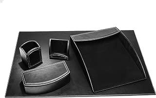Dacasso 5pc Desk Set - Midnight Black