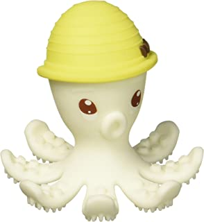 Safety 1st featuring Mombella Ollie Octopus Teether, Yellow, Small