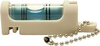 アカツキ製作所 (Kod) 携帯気泡管水平器 水平くんプラス ボディ:白 気泡管:青 SU-WC