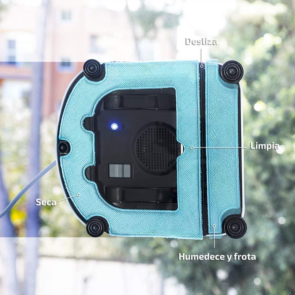 Cecotec Robot Limpia Cristales Conga WinDroid Excellence 970, con Navegación Itech Win 3.0, 4 Modos de limpieza, Limpieza en 5 etapas, Mando a Distancia, 4 Metros de acción: Amazon.es: Hogar