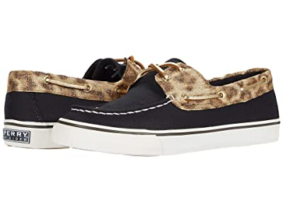 Sperry Bahama Holiday (Black/Gold/Leopard) Women