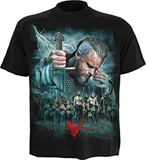 Mens - Vikings - Battle - Vikings T-Shirt Black