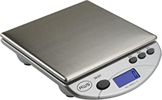 American Weigh Scales SL Series Precision Multifunction Scale, Stainless Steel, 6000G x 1G (AMW-13-SL)