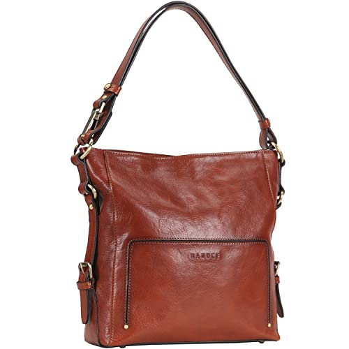 Banuce Women Vintage Italian Leather Hobo Handbag Shoulder Bag Crossbody  Purse 4df4f6f51705