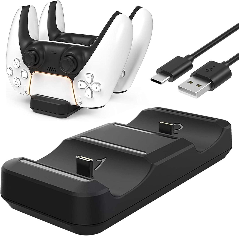 PS5 Controller Charger FANPL Mini Statio Charging Fast Award-winning store Portable Phoenix Mall