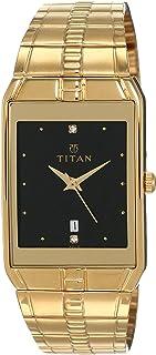 Titan Karishma analog Black Dial Men's Watch NM9151YM05/NN9151YM05