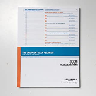 The Emergent Task Planner (75-sheet pad)