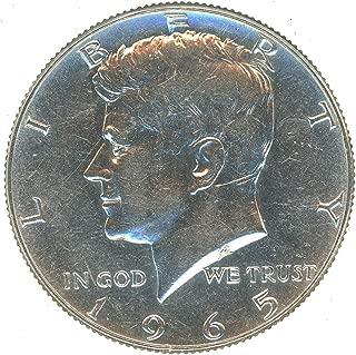 1965 P 40% Silver Kennedy Half Dollar 50¢ Brilliant Uncirculated