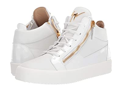 Giuseppe Zanotti May London Mid Top Zayn Sneaker (Bianco) Men