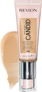 Revlon PhotoReady Candid Natural Finish Foundation, with Anti-Pollution, Antioxidant, Anti-Blue Light Ingredients, 120 Buf...
