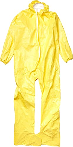 Dupont X-Large Yellow Tychem QC Chemical Protection Coveralls product image