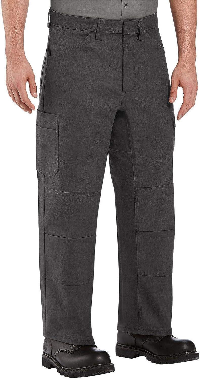 Red Kap Men's Double Shop Pants Knee No-Scratch Cheap mail order Milwaukee Mall shopping